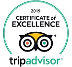 2019 Trip Advisor Certificate of Excellence Award